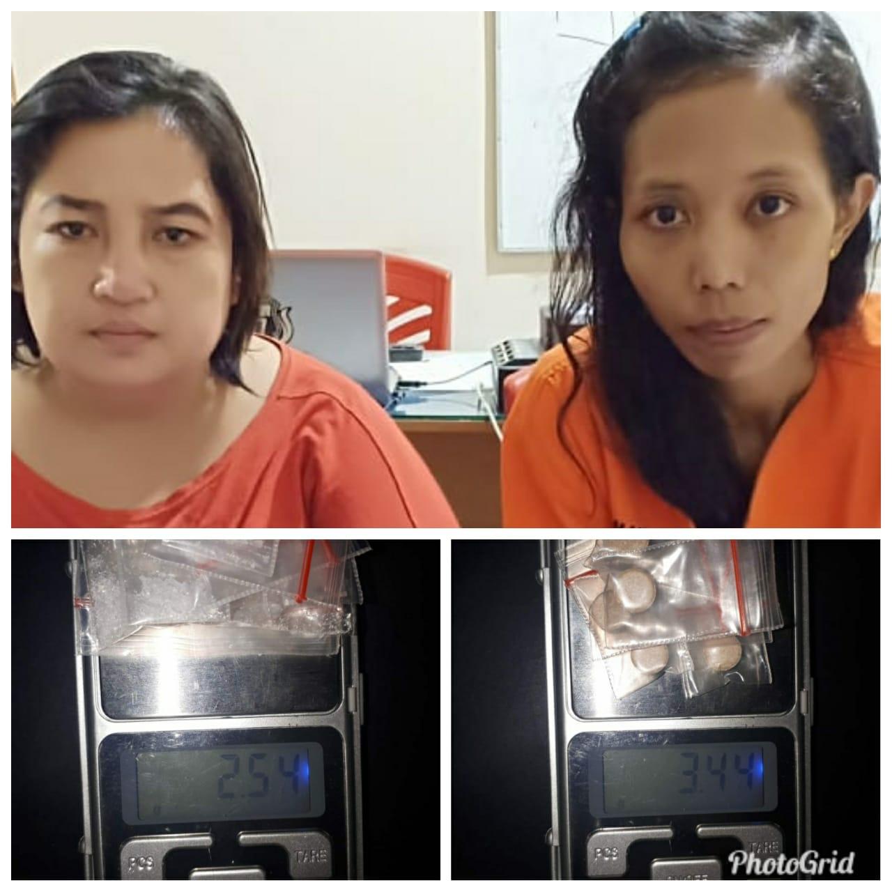 Simpan Narkoba Di Kafe, Dua Wanita Diamankan