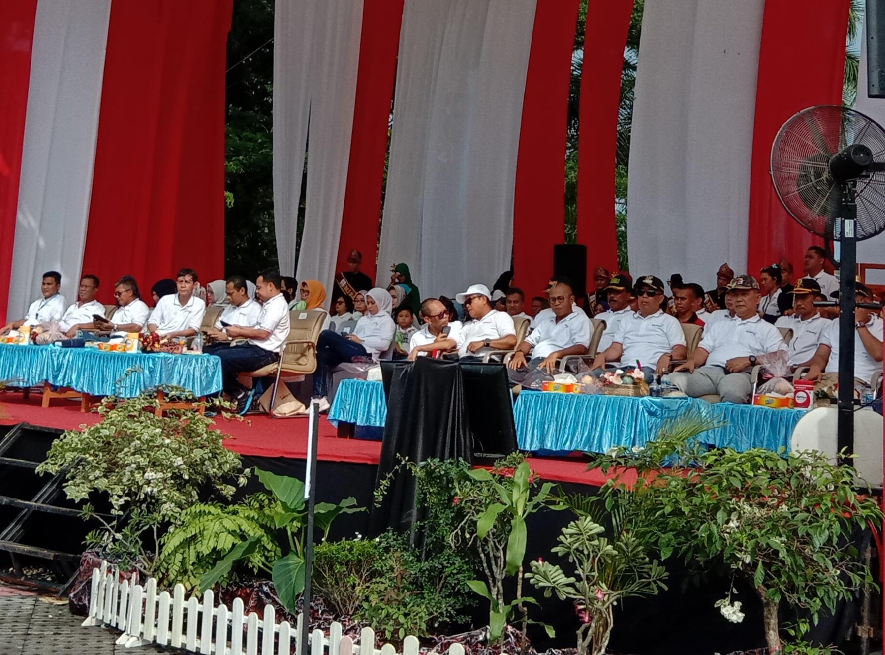 Dirut PTBA Buka Rangkaian Acara HUT Ke-39 Bukit Asam.