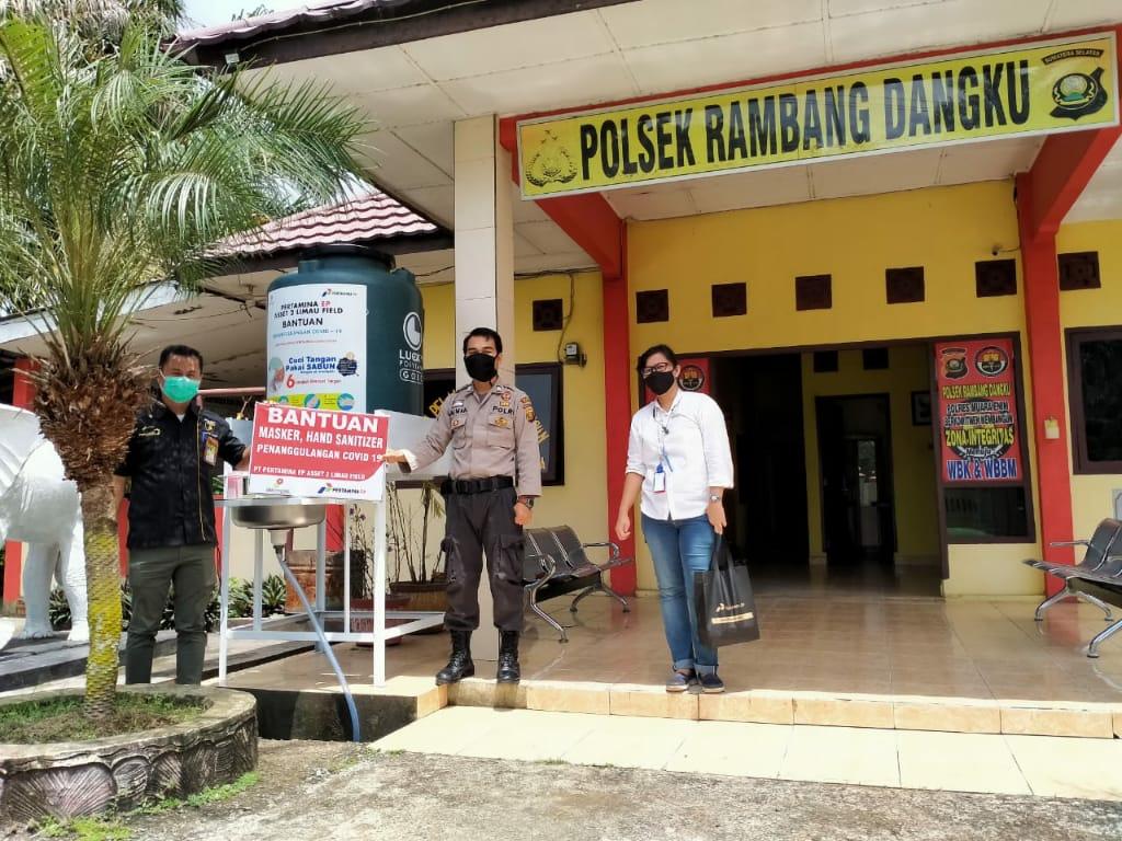 Dukung Cegah Covid-19, SKK Migas – PT Pertamina EP Asset 2 Limau Field Salurkan Bantuan