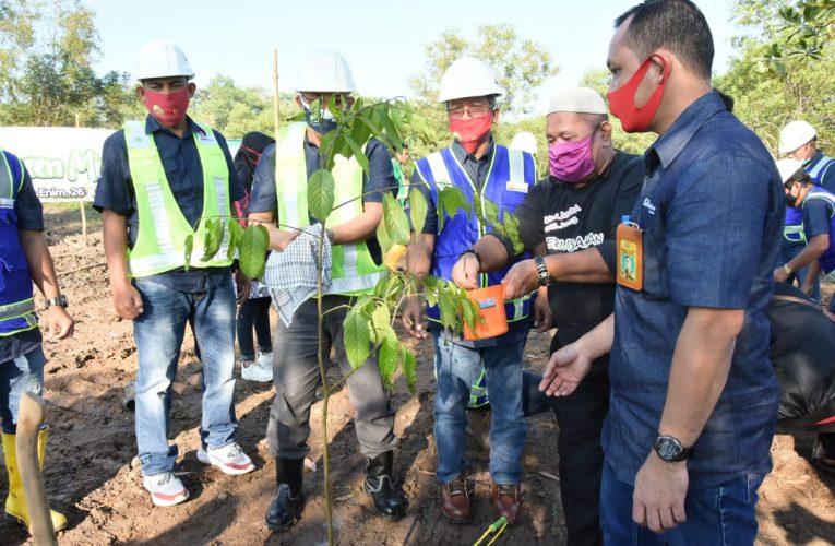 PTBA Tanam 1000 Pohon Guna Peringati Hari Lingkungan Hidup Sedunia