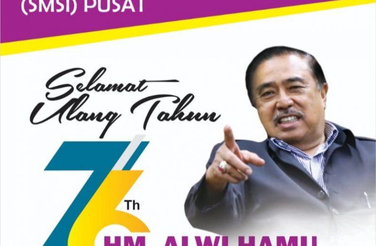 Selamat Ulang Tahun Pak Alwi Hamu Ke 76 Tahun