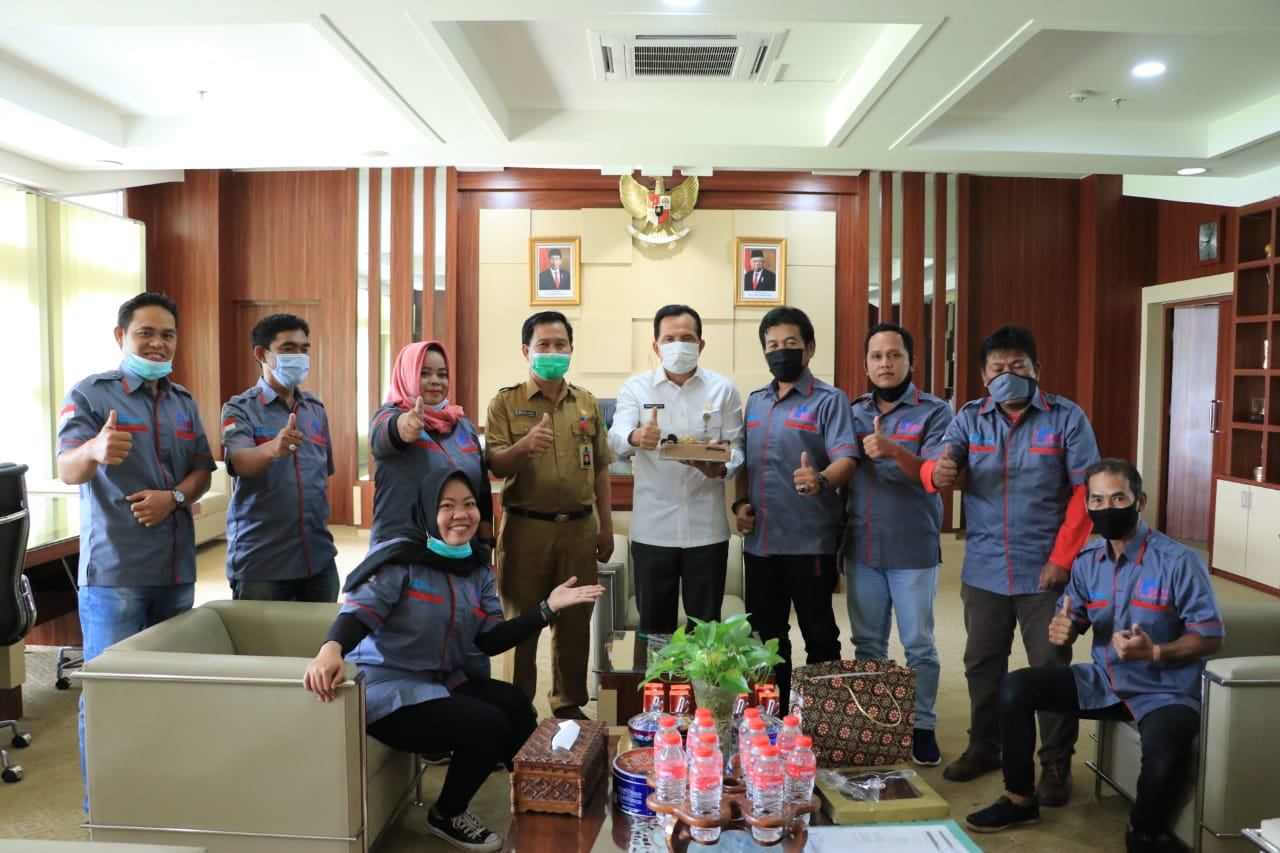 Wako Ridho Yahya Suport Pelantikan Kepengurusan SMSI Prabumulih