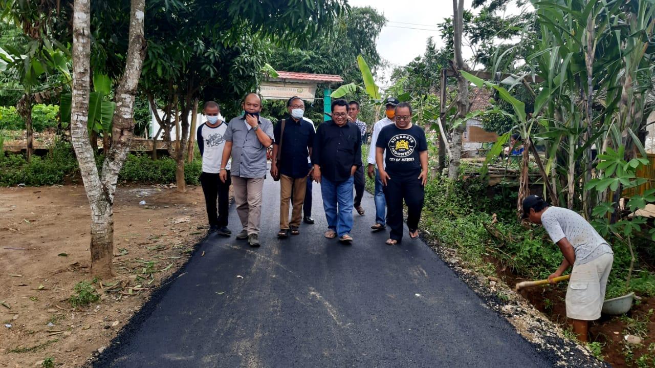 HPN 2021 SMSI Tuntaskan Bangun Jalan dan Sanitasi untuk Masyarakat