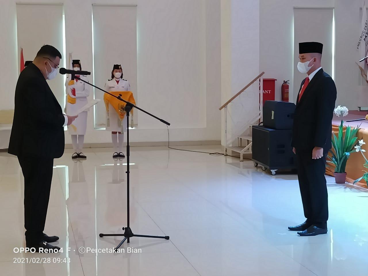 Kepengurus Koni Kota Lubuklinggau Resmi Dilantik