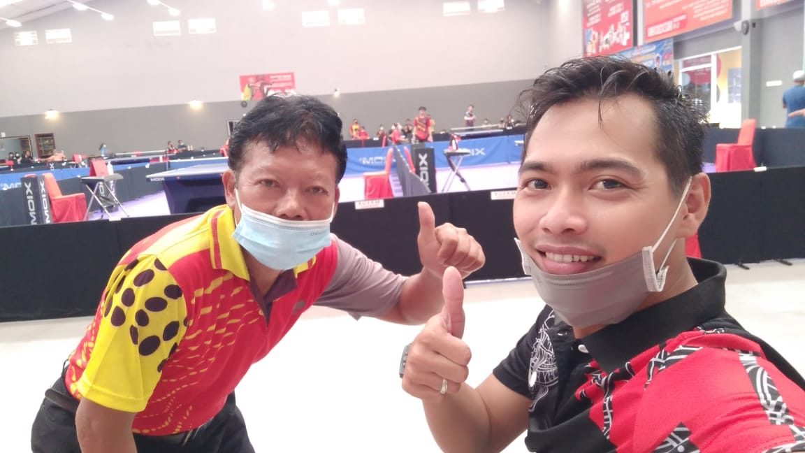 Kejurda Tenis Meja Gubernur Cup, PTMSI Kota Lubuklinggau Kirim Dua Atlet
