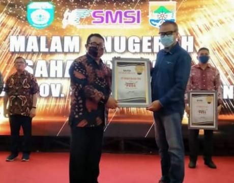PTBA Terima Penghargaan Sahabat Pers