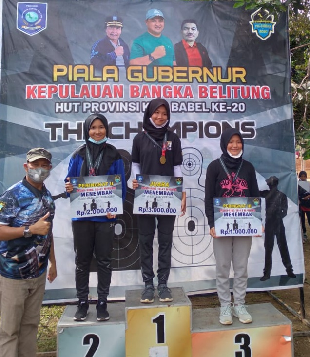 AULIA RAHMA SALSABILLAH Atlet Menembak Berbakat Dari Bangka Belitung