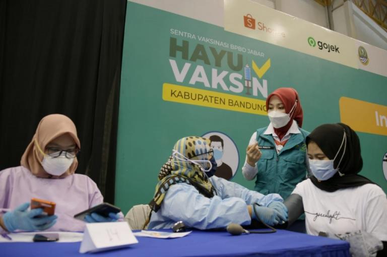 Ditutup, Sentra Vaksinasi si Jalak Harupat Capai Target Sasaran