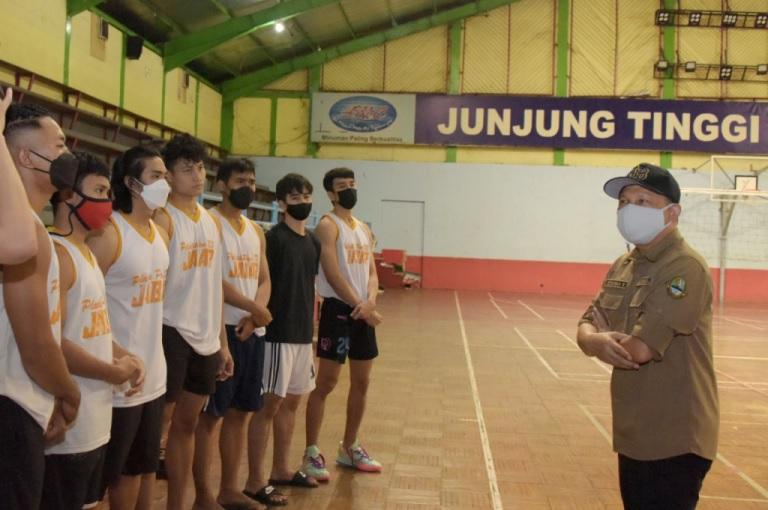 Komandan Kontingen Motivasi Atlet PON XX Jabar