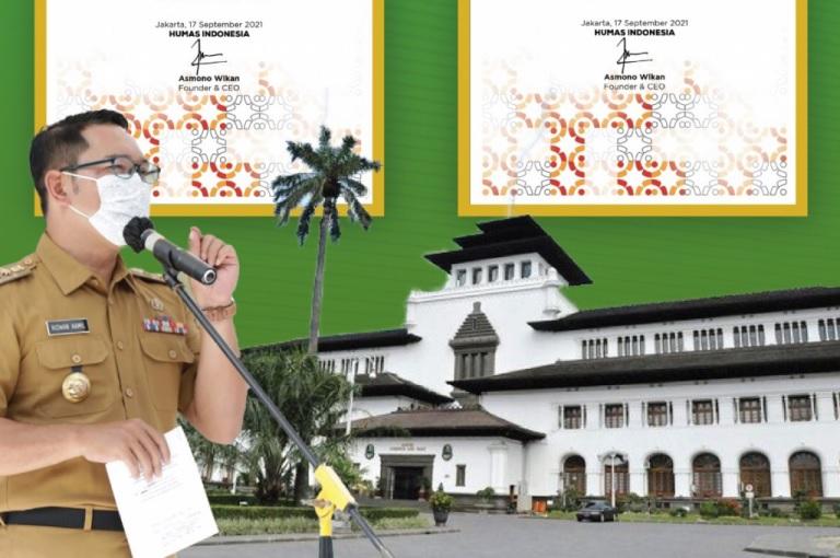 Pemda Provinsi dan Gubernur Jabar Raih Penghargaan Anugerah Humas Indonesia 2021