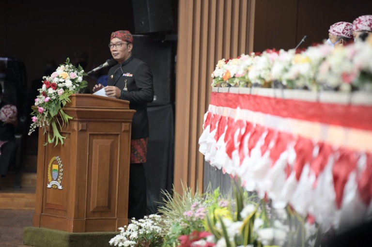 Pesan Ridwan Kamil di Hari Jadi Kota Bandung ke-211