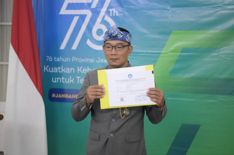 Pesan Ridwan Kamil untuk Penerima Beasiswa JFLS: Belajar Sungguh-sungguh