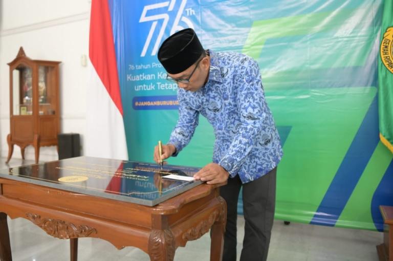 Resmikan Kampus IPB University Sukabumi, Ridwan Kamil: Bagian Cetak Biru SDM Jabar
