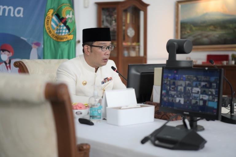Ridwan Kamil: PTM Jabar September di Daerah PPKM Level 2