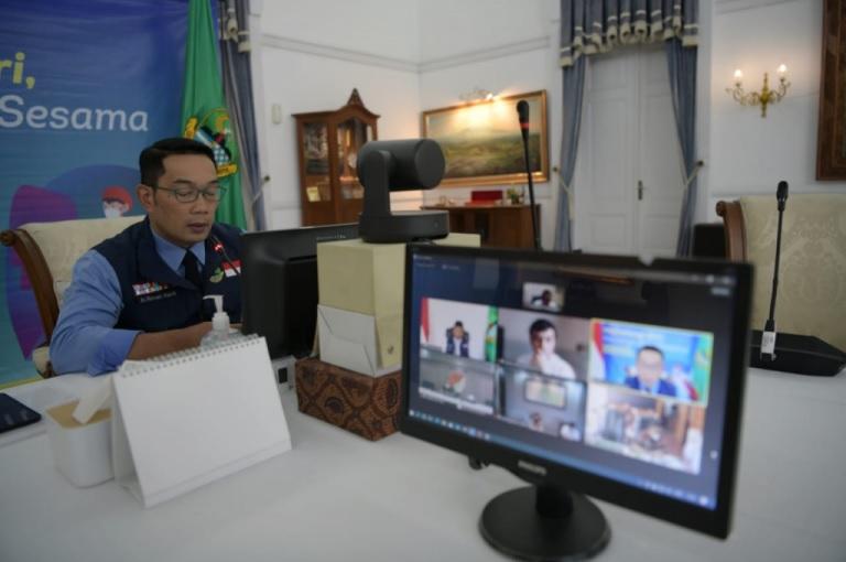 Ridwan Kamil Usul Provinsi Kelola Distribusi Vaksin ke Kab/Kota