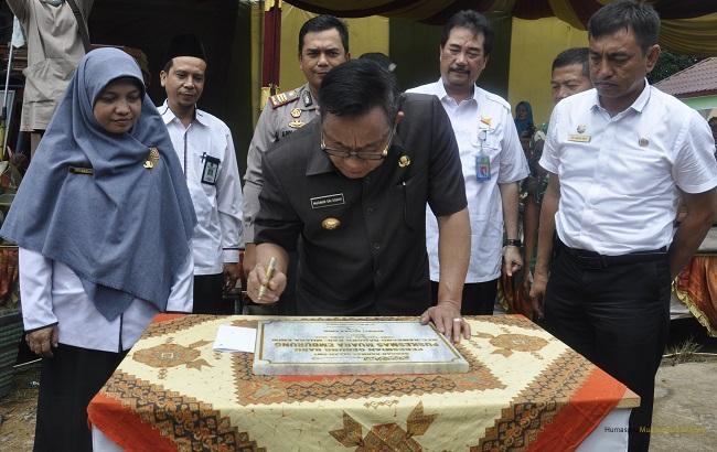 Bupati Resmikan Puskesmas Tanjung Raya