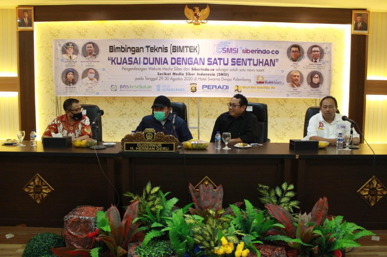 Potensi Bisnis Media Siber di Sumsel Peringkat Pertama di Indonesia