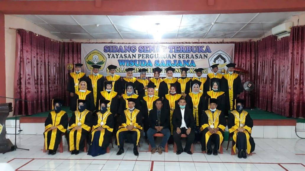 36 Orang Mahasiswa Sekolah Tinggi Ilmu Ekonomi (STIE)  Diwisuda.