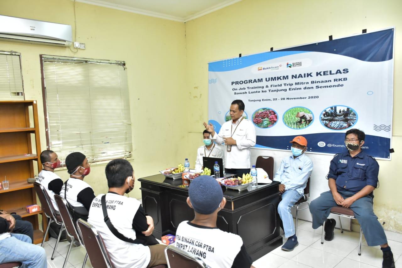 RKB Sawahlunto Magang Di Tanjung Enim Dan Semende