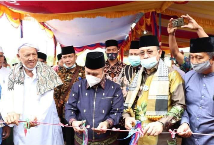 Kamenag Sumsel dan Plt. Bupati Resmikan Ponpes Al- Ashriyah Nurul Islam