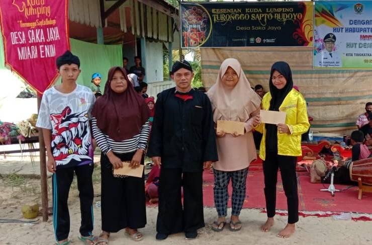 Perayaan 31 Tahun Hari Jadi Desa Saka Jaya, Tetap Jaga Persatuan Kesatuan Dan Jaga Rasa Kegotong Royongan