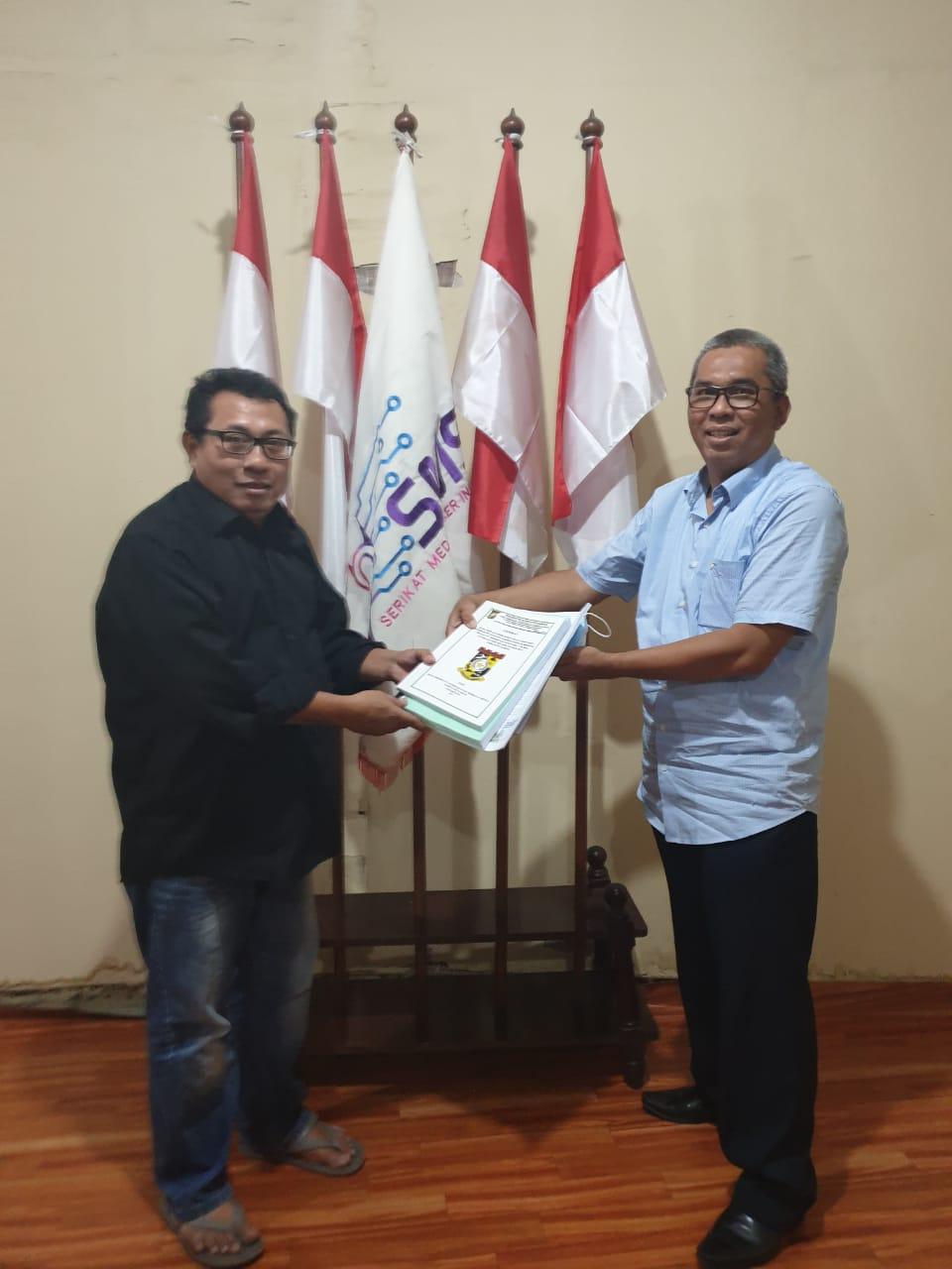Kisruh Kerja Sama Sawit dengan PTPN V Riau, Ketua Kopsa Makmur usai dari KSP Minta Dukungan SMSI