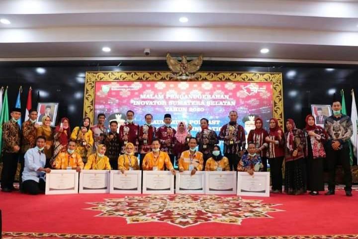Muara Enim Borong Penghargaan Inovator Terbaik Sumatera Selatan 2020