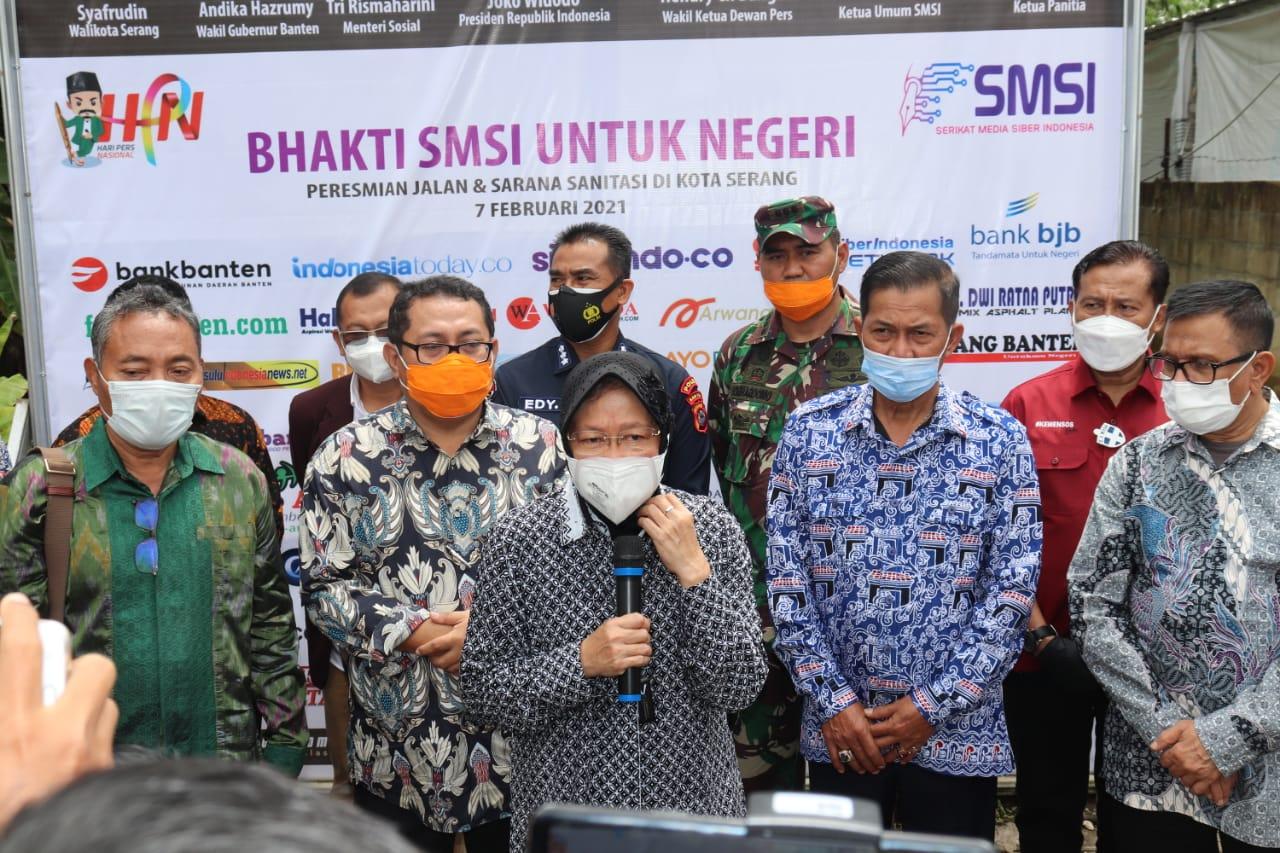 HPN 2021 : Menteri Sosial Puji SMSI Bangun Peradaban