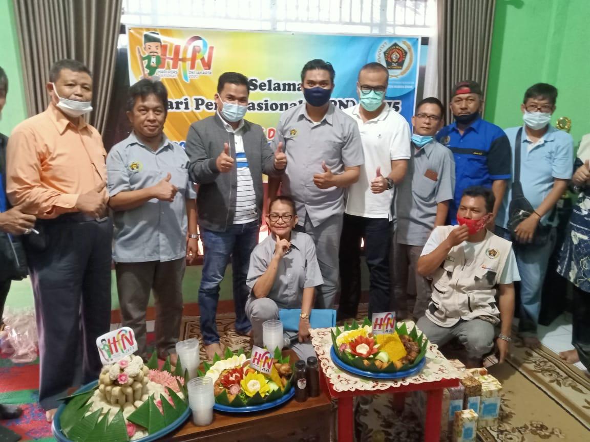 PWI Muara Enim Gelar Syukuran HPN Ke-75 Bersama Management PTBA