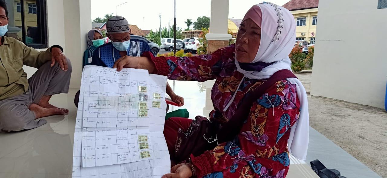 Mantan Kades Sinar Harapan Mulya Tarik Tarif Pengurusan Tanah Lebihi Tarip Resmi