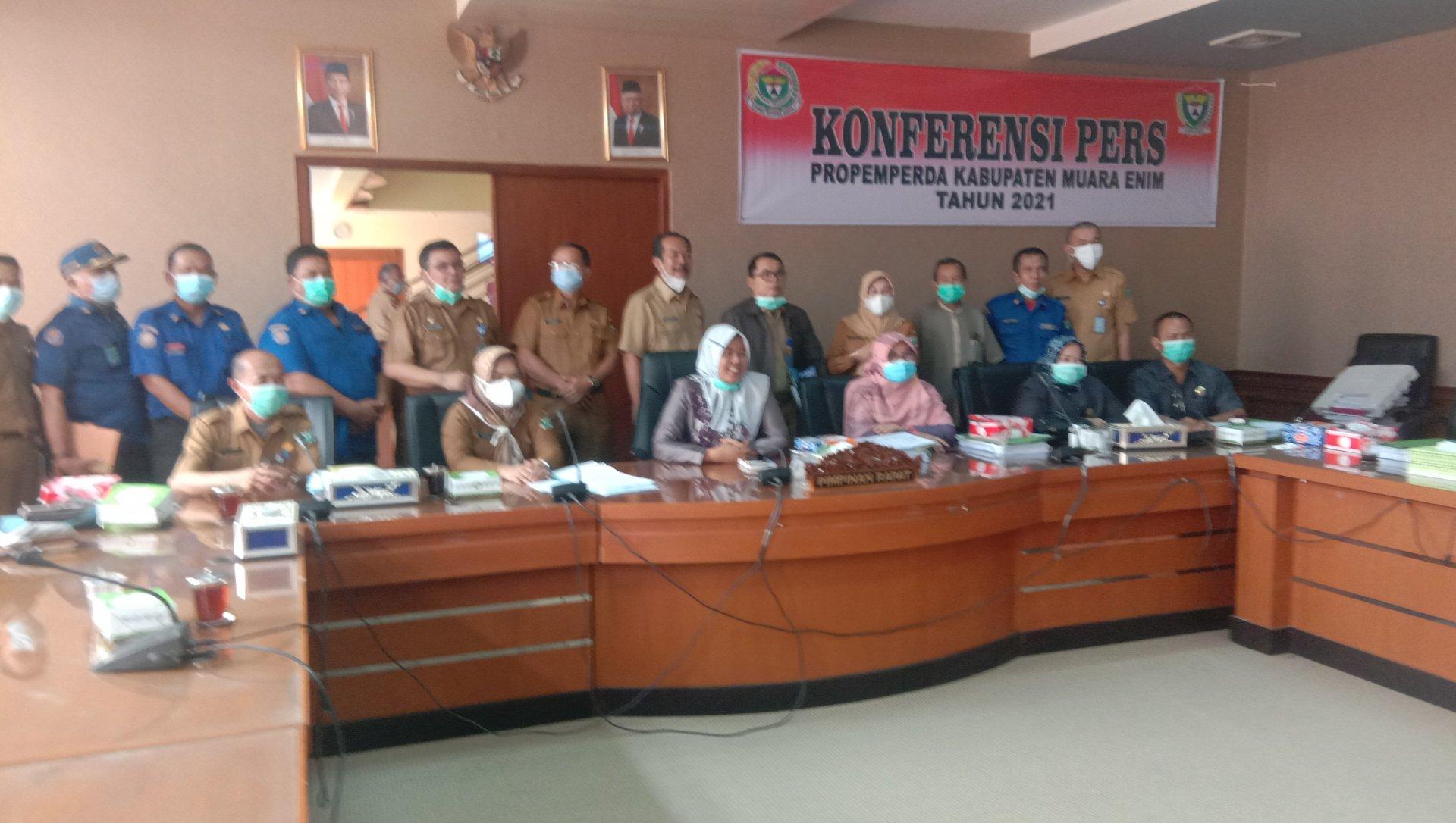 DPRD Bersama Pemkab Muara Enim Sepakati 11 Raperda Dari Eksekutif dan 3 Raperda Inisiatif DPRD