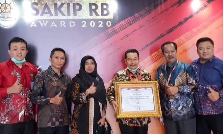 Pemkab Muara Enim Berhasil Raih SAKIB-RB Award Tahun 2020