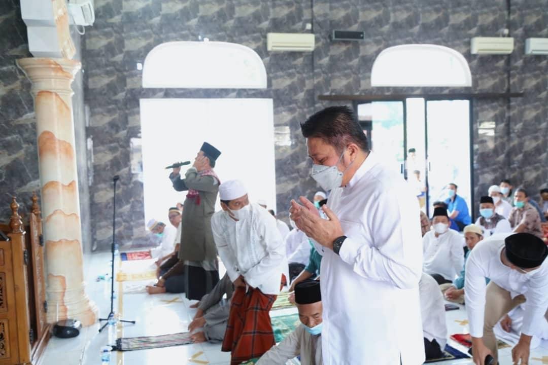 Herman Deru Gelar Safari Jum'at Di Masjid Al.Muhajirin