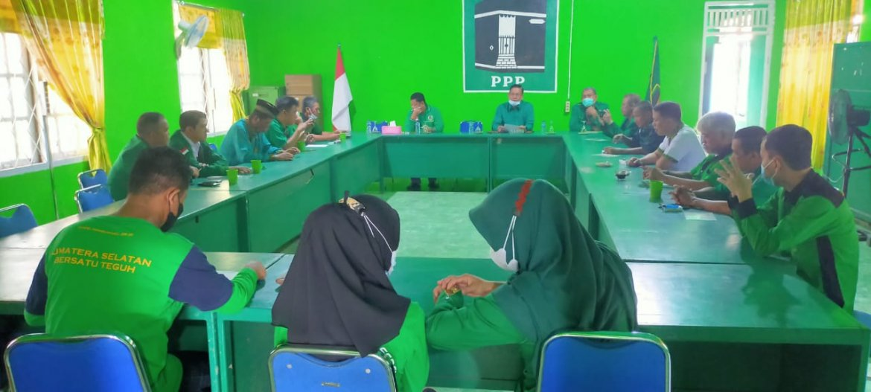 PPP Muara Enim Gelar Rapat Persiapan Jelang MUSCAB