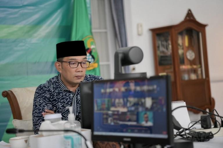 Gubernur Koordinasi Pembukaan Lapangan Gasibu dan Saparua dengan Pemkot Bandung