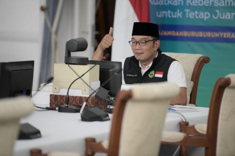 Ajak Masyarakat Adaptasi Hadapi Pandemi, Ridwan Kamil Luncurkan CAP Jabar