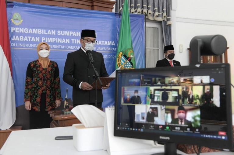 Gubernur Ridwan Kamil Rotasi Tiga Pejabat Pemda Provinsi