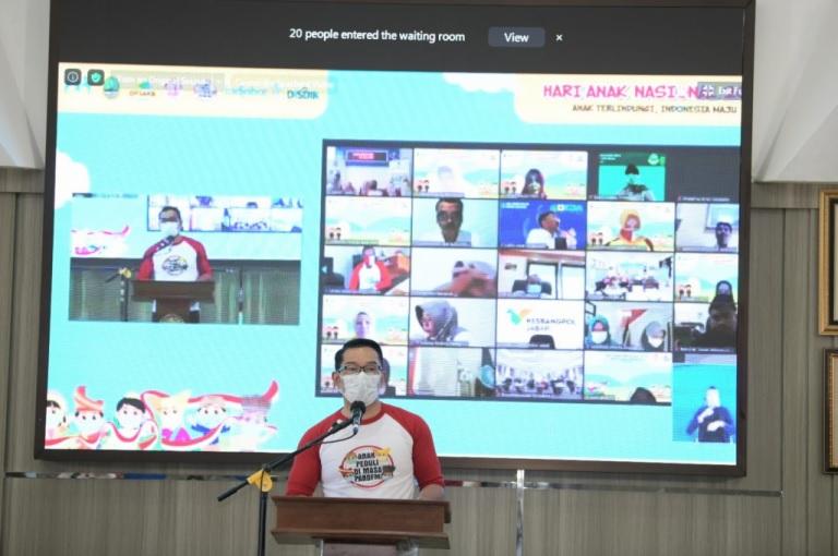 Hari Anak Nasional, Ridwan Kamil: Kawal Bersama Vaksinasi Anak
