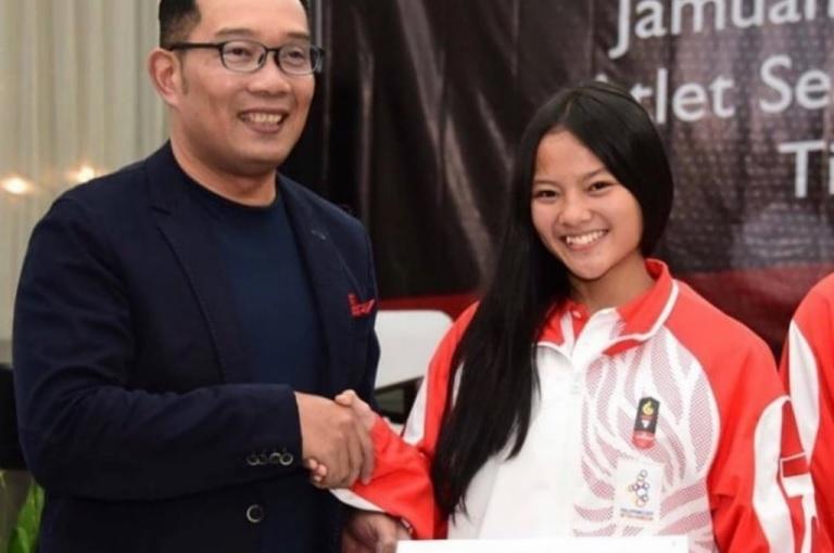 Raih Perunggu Olimpiade, Windy Dapat Kadeudeuh dari Pemda Prov Jabar Ridwan Kamil Semangati Atlet Jabar di Olimpiade