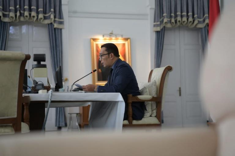Ridwan Kamil Dorong Kepala Daerah di Jabar Tingkatkan Leadership Digital Untuk mempercepat digitalisasi ekonomi