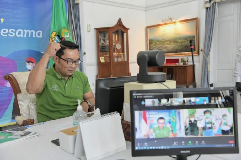 Ridwan Kamil Luncurkan Petani Milenial Tanaman Hias