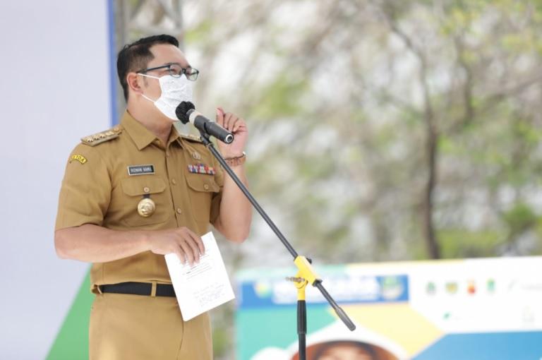 Ridwan Kamil Luncurkan Sentra Vaksinasi Silih Tulungan