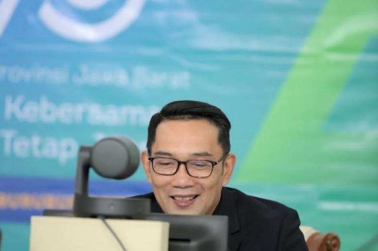 Ridwan Kamil Sapa Atlet Paralympics via Konferensi Video, Bangga Dua Atlet Jabar Sumbang Medali
