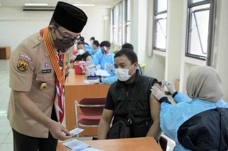 Ridwan Kamil Tekankan Kolaborasi untuk Bentuk Herd Immunity Akhir Tahun