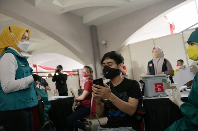 Wantannas RI Dorong Kemenkes Pasok 15 Juta Dosis Vaksin per Bulan ke Jabar